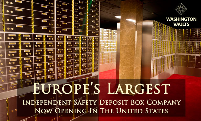 Safety Deposit Boxes Washington